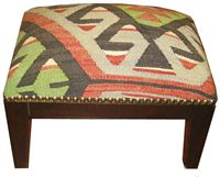 Picture of kilim footstool
